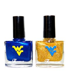 Take a look at this West Virginia Mountains & Mayhem Nail Polish Set by RUMBLE cosmetics on #zulily today!
