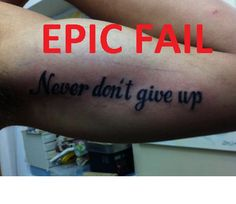 #tattoo FAIL