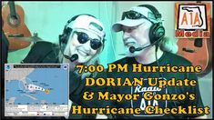 Hurricane DORIAN Update Hosted By Key West & Florida Keys Hon. Mayor Gonzo Mays (Survivor of three Category 5 Hurricanes) and Harry Teaford, Featuring Mayor . Category 5 Hurricane, Key West Florida, Digital Media, Service Design, Social Media Marketing, How To Become, Paradise, Politics, Live
