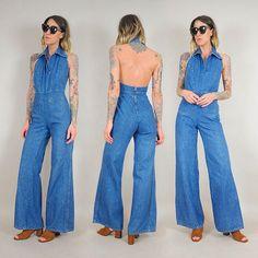 Just added ⚡️ 70's denim jumpsuit