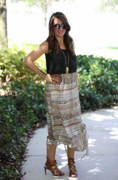 Spring Summer Midi Dress