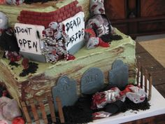 Zombies reprise Pastry Shop, Specialty Cakes, Sugar Art, Celebration Cakes, Zombies, Wedding Cakes, Birthday Cake, Desserts, Food