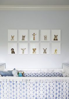 Nursery The Animal Print Prints Dog