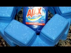 Canal E, Ice Cube Trays, Diy And Crafts, Homemade Laundry Detergent, Soap Recipes, Homemade Fabric Softener, Homemade Cleaning Products, Soaps, Hacks