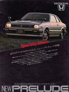 Honda Prelude Mk1 XXR Japan Brochure 1981