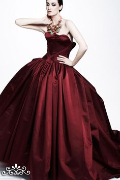 The Red ball gown I have always wanted...
