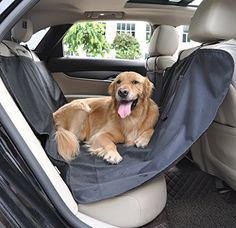 Waterproof Oxford Dog Seat Covers Universal Car Rear Seat Protector Pad Pet Cat Dog Mat Hammock Black by Auto-living >>> Click image for more details. (This is an affiliate link) Dog Crate Mats, Large Dog Crate, Large Dogs, Dog Car Seats, Dog Seat, Indoor Dog Gates, Insulated Dog House, Dog Barrier, Indestructable Dog Bed