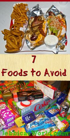 7 Unhealthy Foods to Avoid-Jebbica's World Health and Fitness