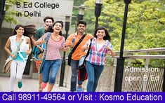 This valuable degree program taken from the B. Ed College in Delhi makes students achieve their objective.