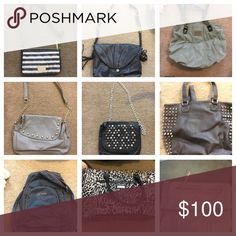 Purses Lightly used, all great condition $100 for all (about $10each) of $15 each or multiple buys will make a deal Bags Crossbody Bags