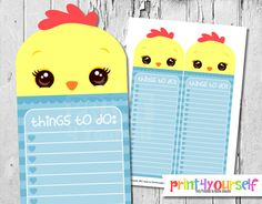 Printable Pig To Do List Instant Download by Print4Yourself Stationery List, Printable Planner, Printables, I Shop, Pikachu, Things To Do, Handmade Gifts, Etsy, Things To Make