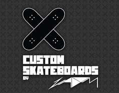 """Check out my @Behance project: """"Custom Skateboards"""" https://www.behance.net/gallery/24078879/Custom-Skateboards"""