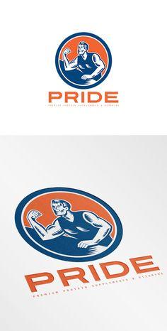 Pride Premium Protein Supplement Log by patrimonio on Creative Market