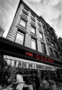 The Odeon - a reliable TriBeCa staple. Sweet corn ravioli, red quinoa trout, and the bioche custard bread pudding all delicious winners!