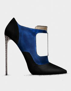 ● The Black & Blue - Collection www.guillaumebergen.com #Black #Blue #Klein #Sketch #Mode #Illustration #FashionDraw #FashionIllustration #Design #Stylisme #Stylism #Shoes #Pump #ShoesDesigner #Heels #Heel #ShoesDraw #Bootie #Satin #PeepToe #Plexi #Sandal #Leathers #Patent #Stiletto #Graphisme #Graphic #Style #Street #StreetStyle #Gold #GoldHeels #Grey #CapToe #Strap #Bootie #Sandal #Gold #AnkleBoot #Velvet