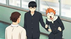 I think Hinata might be ticklish .... Either that or Kageyama is being a little rough