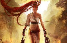 Nariko es una joven ágil y fuerte con un don para controlar la Espada Celestial, con una gran habilidad para derrotar a ejércitos enteros.