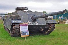 Chieftain Casement Test Rig (CTR) -British Cold War self-propelled gun