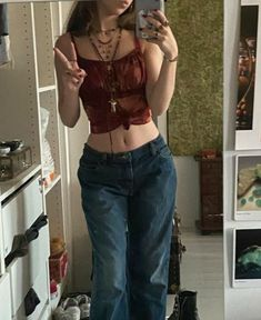 Adrette Outfits, Swaggy Outfits, Neue Outfits, Hippie Outfits, Retro Outfits, Cute Casual Outfits, Vintage Outfits, Fashion Outfits, 2000s Fashion