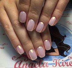 Latest Pearl nails - Fashion in 2019 Chrome Nails Designs, Nail Art Designs, Bridal Nails, Wedding Nails, Love Nails, Pretty Nails, Irridescent Nails, Pink Chrome Nails, Chrom Nails
