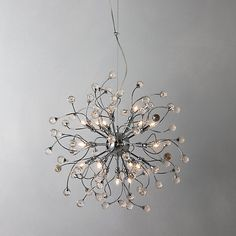 John Lewis Nebula Chandelier, so beautiful - the picture doesn't really do it justice. Dining Room Lighting, Home Lighting, Ceiling Pendant, Pendant Lighting, Oak Frame House, Wall Lights, Ceiling Lights, Ceiling Fan, Sparkling Lights