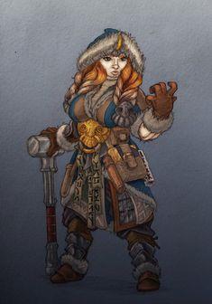 Dwarf Runeweaver by NatteRavnen.deviantart.com on @DeviantArt