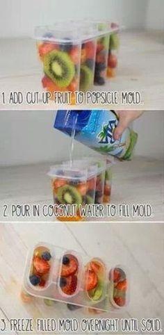Recipe: Simple Summer Popsicles