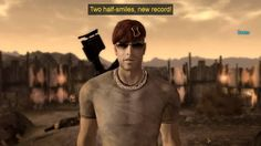 *gasps* HOLY S-... BOONE SMILED! ... Granted it was sort of a vague half-smile, BUT STILL A SMILE!   | Craig Boone | Fallout: New Vegas | Bethesda |