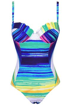 a57b45d819c Product Code  Details  With padding bra Adjustable shoulder straps  Colourful stripes Fabric  Chinlon