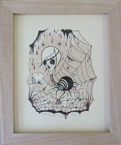 camile rose garcia -  i want this print!!!!!  she is the cutest spider i have ever seen!!!!