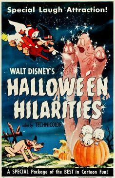 "Retro Pop Cult — midwinterdream: Vintage poster for ""Walt. Retro Pop Cult — midwinterdream: Vintage poster for ""Walt. Disney Halloween, Retro Halloween, Halloween Images, Halloween Themes, Fall Halloween, Happy Halloween, Disney's Halloween Treat, Creepy Disney, Halloween Artwork"