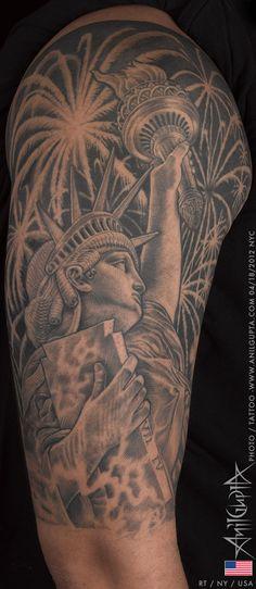 Tattoo by Anil Gupta at Inkline Studio in Manhattan, NY *****