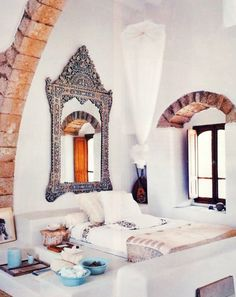 Bohemian Moroccan Interior.