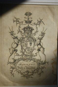 Arms of Hamilton, Dukes of Brandon