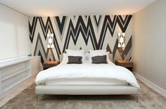 Awesome zigzag wallpaper