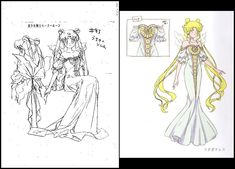 Usagi Tsukino/Sailor Moon, in the dress she was dressed in during her captivity, after being abducted by 'Prince' Diamond/Demand/Demando of the Black Mo. Anime Naruto, Manga Anime, Nice Boys, Princesa Serenity, Costumes Couture, Moon Book, Naoko Takeuchi, Sailor Moon Character, Moon Shadow