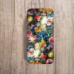 VINTAGE FLORAL Phone Case Floral iPhone 5 Case by casesbycsera, $19.99