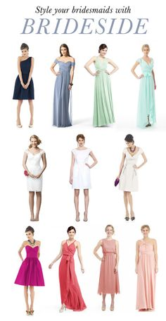 Style your Ladies with Brideside + A Promotion + A Giveaway!