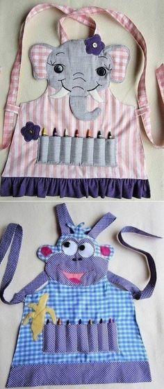 (12) Забавные фартуки для деток . Идеи. - Море идей - рукоделие, декор дома, поделки и hand made.