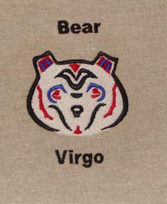 Native American Zodiac Animal: BEAR - August 22-September 21