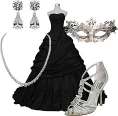 Masquerade Created By Cbear327 On Polyvore