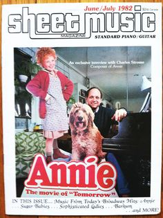 sheet music #magazine june 1982 annie charles strouse barnum sugar babies from $8.75