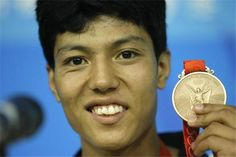 Rohullah Nikpai is a refugee from Afghanistan who won a bronze medal in taekwondo at the Beijing Olympics in 2008 while competing for his home country of Afghanistan.