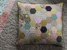 I love this pillow! I would like to make one for Naomi and Melody. Or just for my couch.