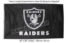 $ 19.99 NEW FLAG banner Los Angeles Oakland Raiders Raider 3'x5' black FREE SHIPPING
