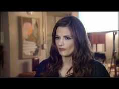 """Stana katic behind the scenes of Castle... """"down and dirty..."""""""