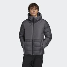 Members Only Jacket, Weather Change, Types Of Jackets, Sleek Look, Gray Jacket, Stay Warm, Adidas Men, Hooded Jacket, Windbreaker