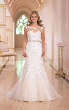 Glamorous Stella York Wedding Dresses 2014 Collection - MODwedding