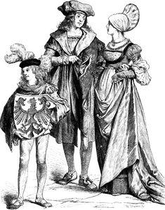 Немецкие горожане, первая четверть 16-го века