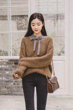 Bocaci Double Doo Knit | Korean Fashion